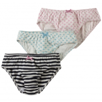 Frugi Clouds & Daisies Phoebe Knickers x 3