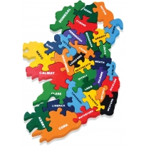 Alphabet Jigsaws Wooden Map of Ireland