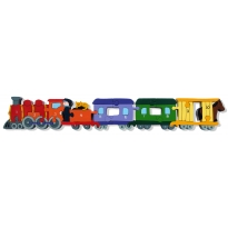 Numbers Jigsaws Numbered Wooden Train