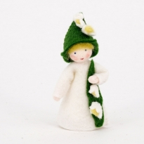 Ambrosius Lily of The Valley Fairy 8-10cm