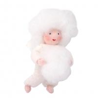 Ambrosius Snowball Baby Hanging Decoration White Skin