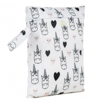 Baba + Boo Small Nappy Bag - Unicorns