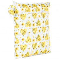 Baba + Boo Double Zip Bag - Sunflowers
