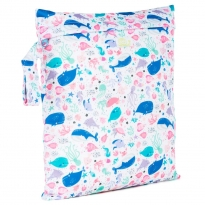 Baba + Boo Small Nappy Bag - Ocean