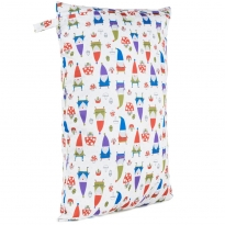 Baba + Boo Large Nappy Bag - Gnomes