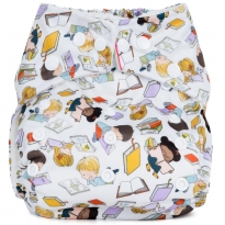 Baba + Boo One-Size Nappy - Bookworm