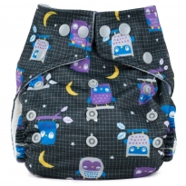 Baba + Boo One-Size Nappy - Night Owl