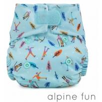Baba + Boo Newborn Nappy-Alpine Fun
