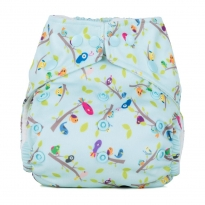 Baba + Boo One-Size Nappy - Dawn Chorus