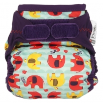 Pop-in Nappy Cover Babipur Elephant Print