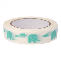 Babipur Elephant Eco Tape - Green
