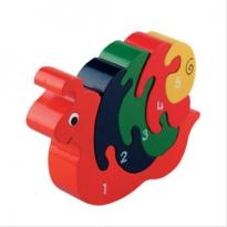 Baby Snail Jigsaw 1-5