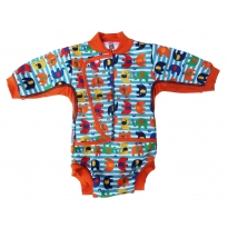 Pop-In Baby Cosy Suit Stripe Elephant
