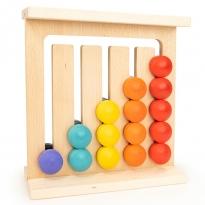 Bajo Wall Abacus 15 Balls