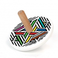 Bajo Modern Colour Spinning Top