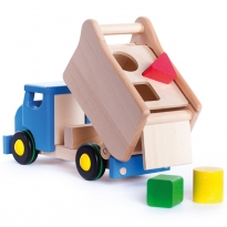 Bajo Blue Tipper Shape Sorter