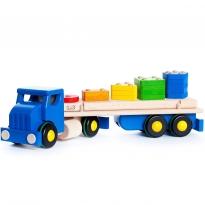 Bajo Large Blue Cargo Truck