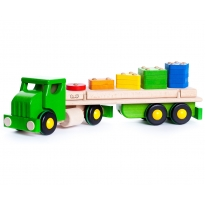 Bajo Green Truck PC Large