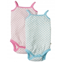 Frugi Clouds & Daisies Body Vests