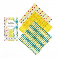 BeeBee Cheese Collection Beeswax Wraps