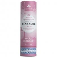 Ben & Anna Sensitive Deodorant Japanese Blossom  - 60g