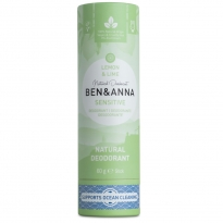 Ben & Anna Sensitive Deodorant Lemon & Lime - 60g
