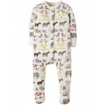 Frugi Hay Days Lovely Babygrow