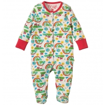 Frugi Happy Days Lovely Babygrow