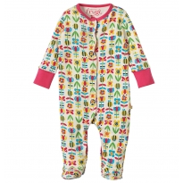 Frugi Soft Bumble Bloom Lovely Babygrow