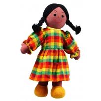 Lanka Kade Mum Doll - Black Skin, Black Hair