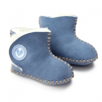 Cwtch Sheepskin Boots - Blue