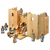 Lanka Kade Castle Playscene & 12 Knights