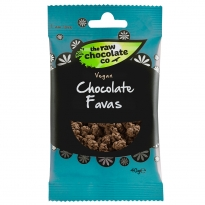 Chocolate Favas 40g - Raw Chocolate Company