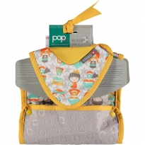 Pop-in Bliss Superhero Stage 1 & 2 Bib Bundle