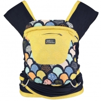 Close Caboo Prints +Cotton Blend Carrier - Sophia