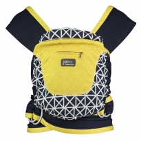 Close Caboo Prints +Cotton Carrier-Isla