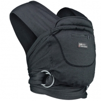 Close Caboo +Cotton Blend Carrier - Phantom