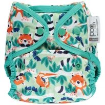 Pop-in Red Panda Print Popper Cover
