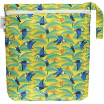 Pop-in Parrot Medium Tote Bag