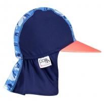 Pop-In Sun Hat Whale