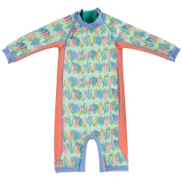 Pop-In Toddler Snug Suit Turtle