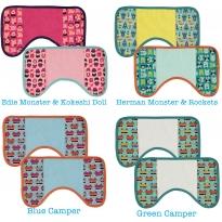 Pop-In Burp Cloth 2 Pack
