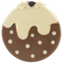 Cocoa Loco Milk & White Chocolate Christmas Pudding