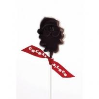 Cocoa Dark Chocolate Santa Lolly 40g