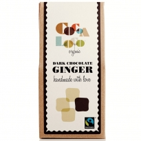 Cocoa Loco Dark Chocolate Ginger 100g