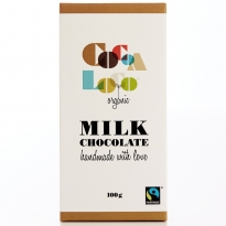 Cocoa Loco Milk Chocolate Bar 100g