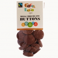 Cocoa Loco Milk Chocolate Buttons 100g