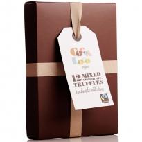 Cocoa Loco Mixed Selection Truffles x12