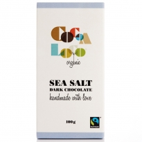 Cocoa Loco Dark Chocolate & Sea Salt Bar 100g