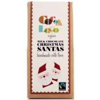 Cocoa Milk Chocolate Santas 100g